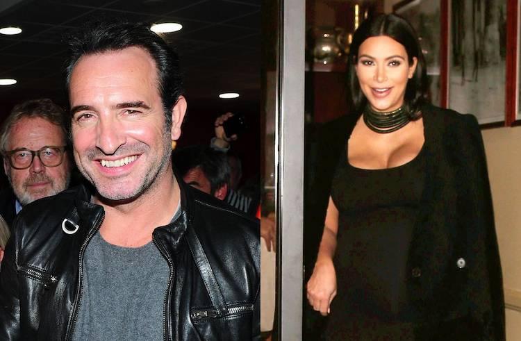 Jean dujardin et kim kardashian nouveau parents for Gaelle et jean dujardin